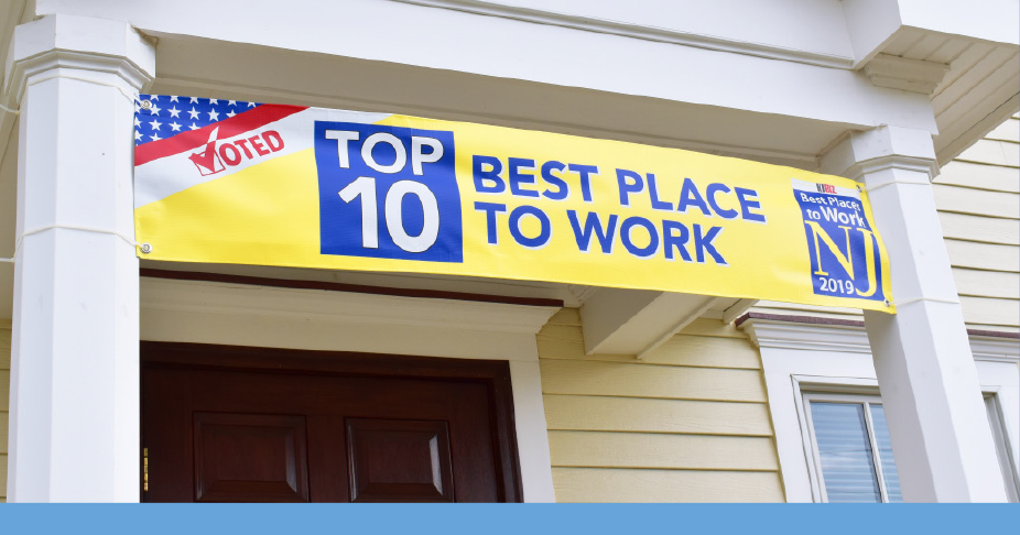 Voted Top 10 Best Place to Work