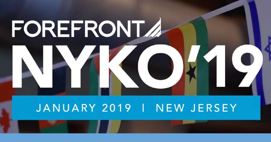 ForeFront NYKO'19 | January 2019, New Jersey