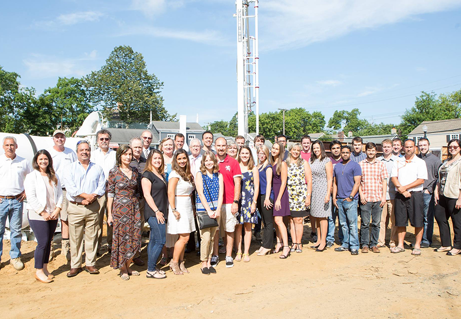 ForeFront Group Photo at 810 Construction