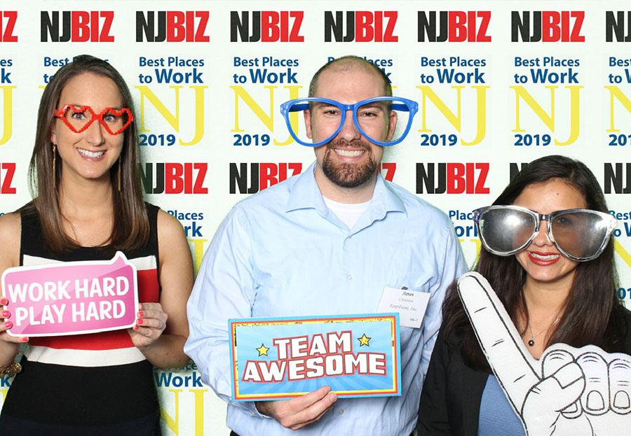 ForeFront Employees at NJBIZ Event