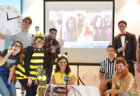 ForeFront Employees in Halloween Costumes