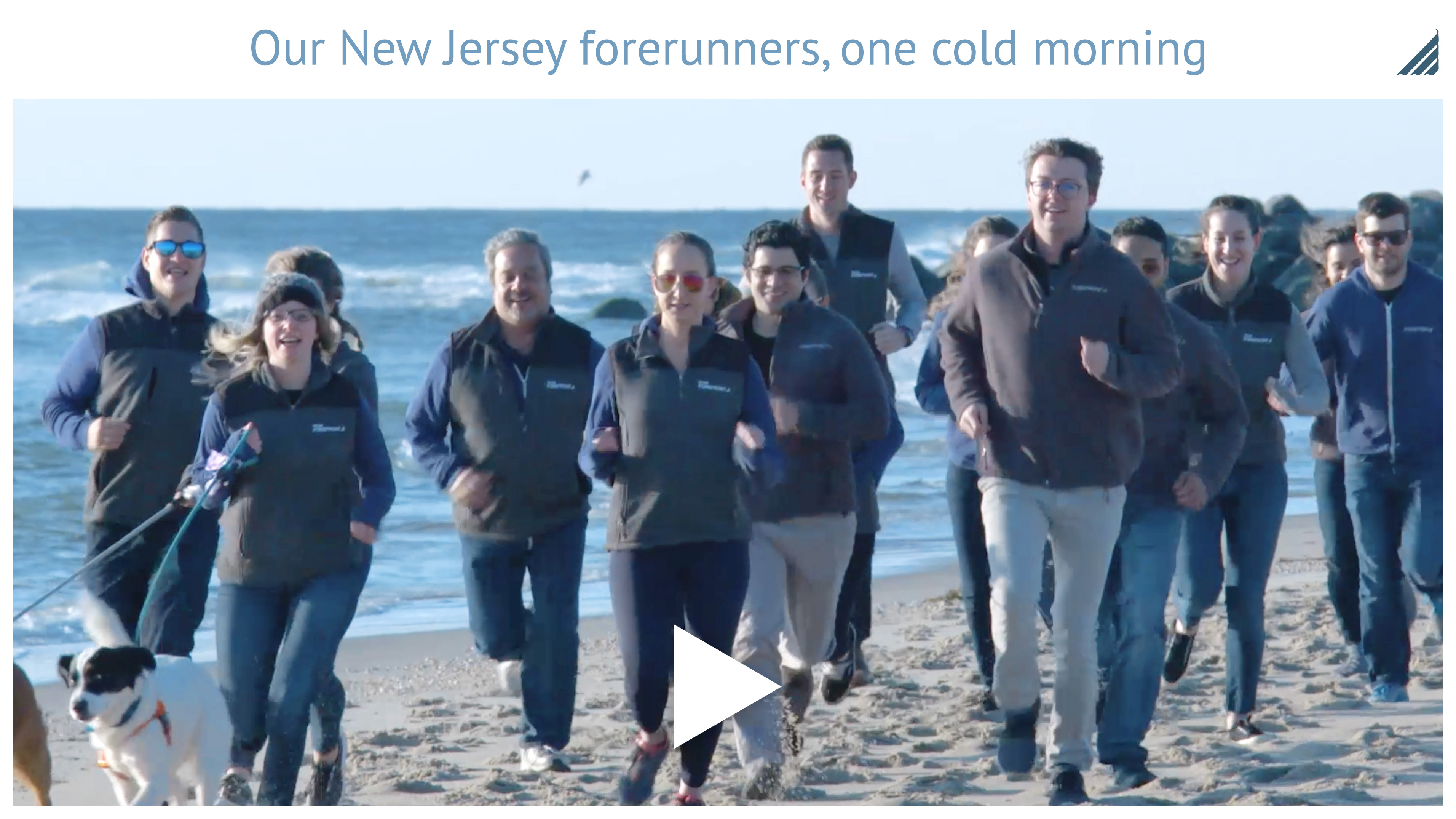 Play Video: Our New Jersey forerunners, one cold morning