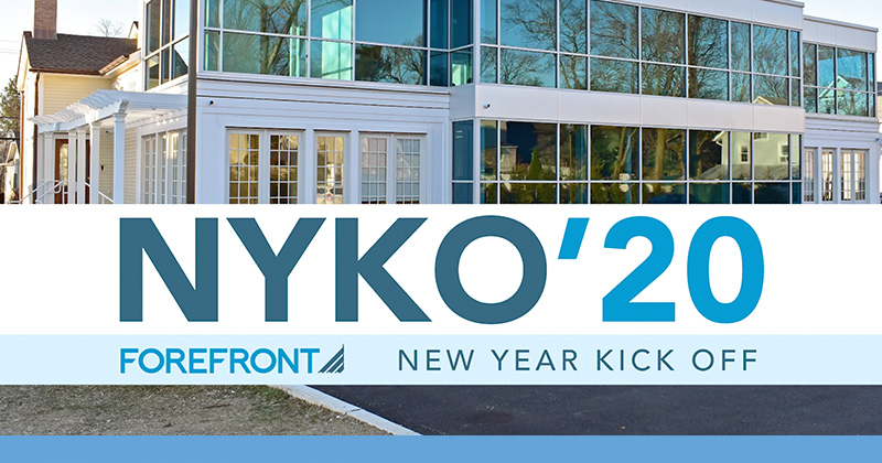 ForeFront NYKO'20 | New Year Kick Off