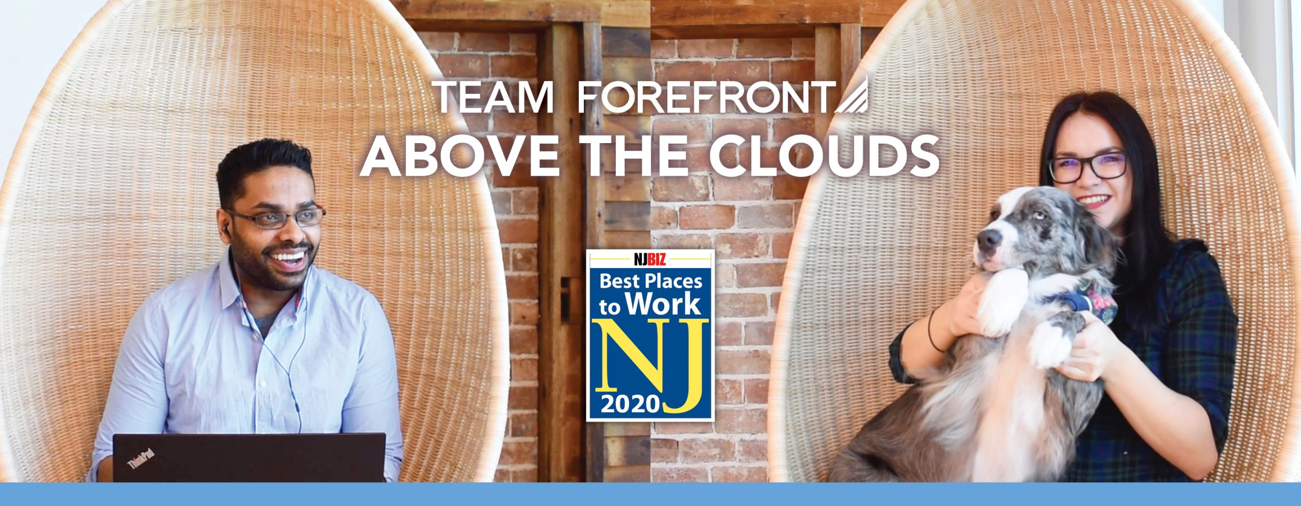 Team ForeFront | Above the Clouds | NJ Best Places to Work