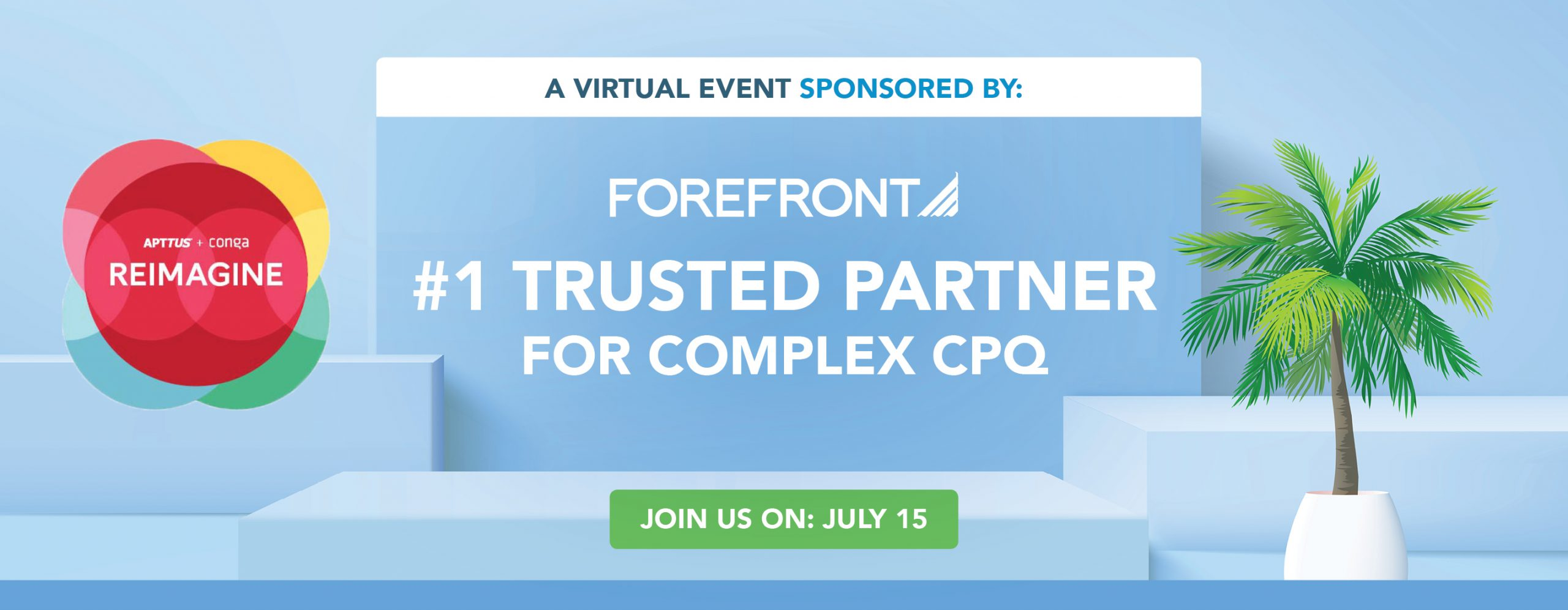 ForeFront, #1 Trusted CPQ Partner, Sponsoring Reimagine Event